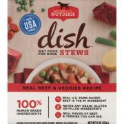 Rachael Ray Nutrish Dish Stews Wet Food Beef & Veggie Dog