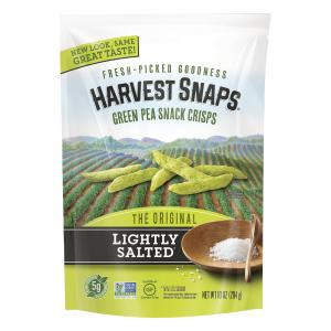 Harvest Snaps Green Pea Crisps Lightly Salted