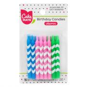 Cake Mate Chevron Candles