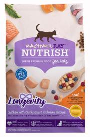 Rachael Ray Nutrish Longevity Chicken, Chickpeas, and Salmon