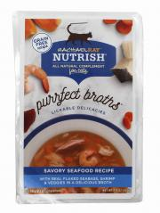 Rachael Ray Nutrish Purrfect Broths Savory Seafood Recipe