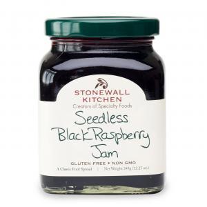 Stonewall Kitchen Black Raspberry Seedless Jam