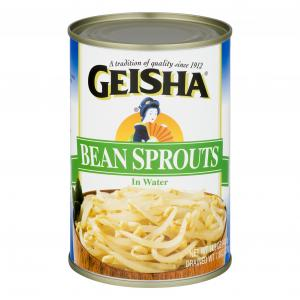 Geisha Bean Sprouts in Water Natural