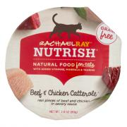 Rachael Ray Nutrish Wet Cat Food Beef & Chicken Catterole