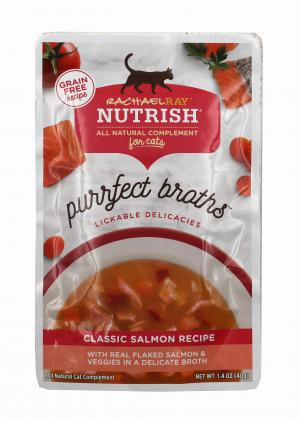 Rachael Ray Nutrish Purrfect Broths Classic Salmon Recipe