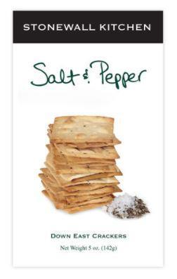Stonewall Kitchen Salt & Pepper Crackers