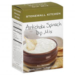 Stonewall Kitchen Artichoke Spinach Dip Mix