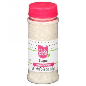 Cake Mate White Shimmer Sugar