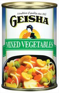 Geisha Mixed Vegetables