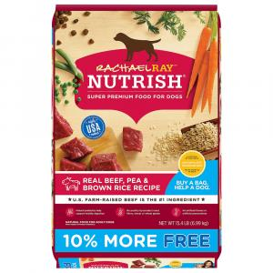Rachael Ray Nutrish Beef & Brown Rice Dog Food Bonus