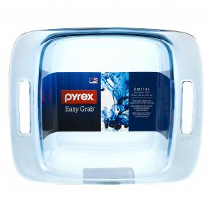 Pyrex Atlantic Blue 8 Inch Square Baking Dish