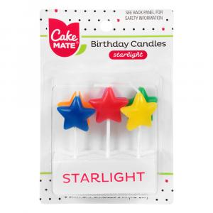 Cake Mate Star Light Candles