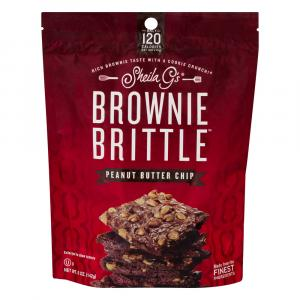 Sheila G's Peanut Butter Chip Brownie Brittle