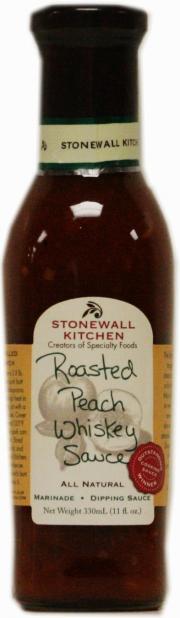 Stonewall Kitchen Roasted Peach Whiskey Sauce