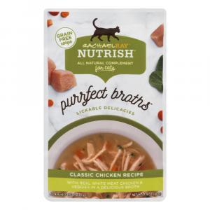 Rachael Ray Nutrish Purrfect Broths Classic Chicken Recipe