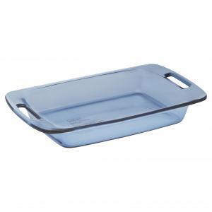 Pyrex Atlantic Blue 3 Quart Oblong Baking Dish