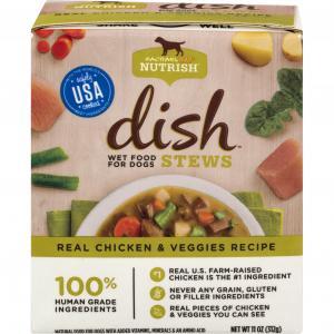 Rachael Ray Nutrish Dish Stews Wet Food Chicken & Veggie Dog