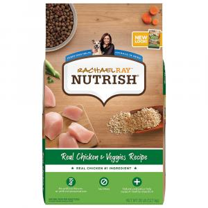 Rachael Ray Nutrish Chicken & Veggies Dry Dog Food