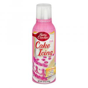 Betty Crocker Easy Flow Pink Icing