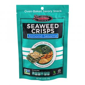 Seapoint Farms Almond Sesame Seaweed Crisps