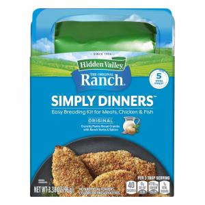 Hidden Valley Simply Dinners Breading Prep Kit Classic Ranch