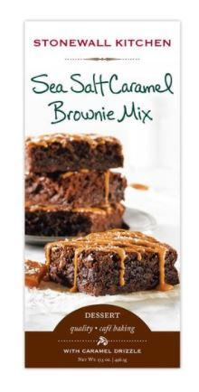 Stonewall Kitchen Sea Salt & Caramel Brownie Mix