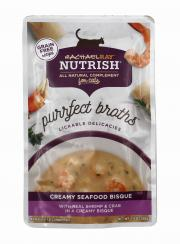 Rachael Ray Nutrish Purrfect Broths Creamy Seafood Bisque