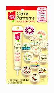 Cake Mate Cake Patterns Trace and Decorate