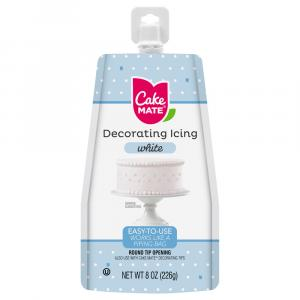 Cake Mate White Easy-To-Use Decorating Icing