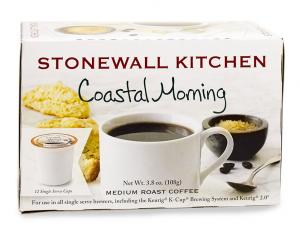 Stonewall Kitchen Coastal Morning Blend Coffee K-Cups