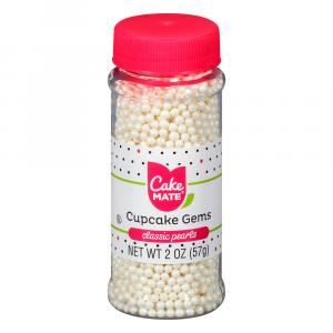 Cake Mate Cupcake Gem Perfect Pearls