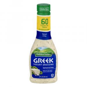Hidden Valley Greek Yogurt Spinach & Feta Dressing