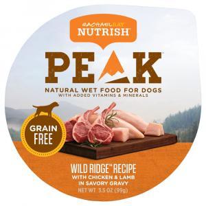 Rachael Ray Nutrish Peak Wild Ridge Recipe Dog Food