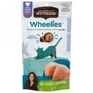 Rachael Ray Nutrish Wheelies Chicken Cat Treats