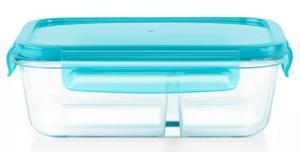 Pyrex Meal Box 3.4 Cup Rectangular Glass Food Storage