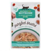 Rachael Ray Nutrish Purrfect Broths Creamy Chicken Bisque
