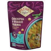 Patak's Chickpea & Veggie Korma