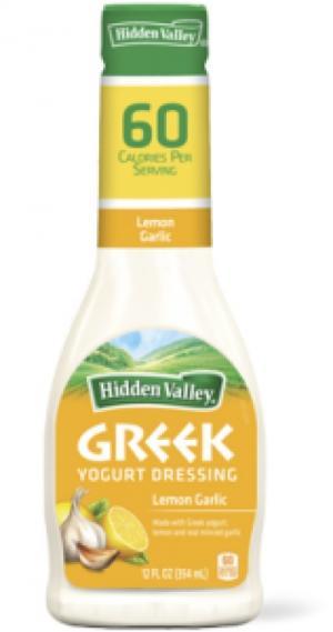Hidden Valley Greek Yogurt Lemon Garlic Dressing