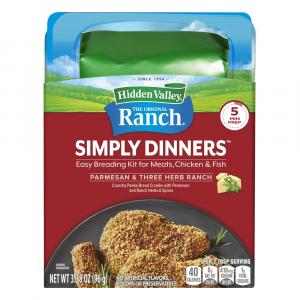 Hidden Valley Simply Dinners Breading Prep Kit Parmesan And