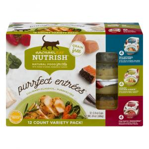 Rachael Ray Nutrish Purrfect Entrees Variety Cat Food