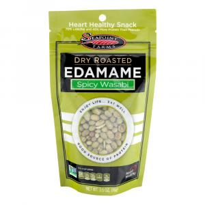 Seapoint Farms Wasabi Flavored Dry Roasted Edamame
