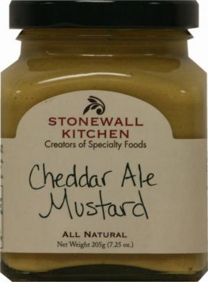 Stonewall Kitchen Cheddar Ale Mustard