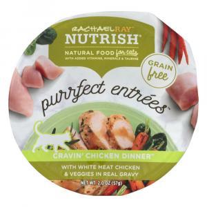 Rachael Ray Nutrish Purrfect Entrees Cravin' Chicken