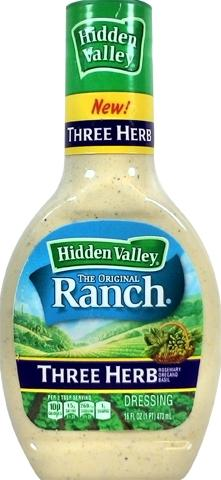 Hidden Valley Ranch Three Herb Dressing