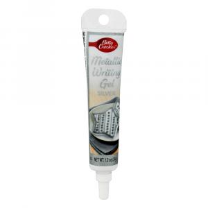 Betty Crocker Metallic Sliver Writing Gel