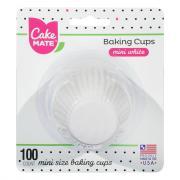 Cake Mate Mini White Cupcake Liners