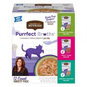 Rachael Ray Nutrish Purrfect Broths Variety Pack