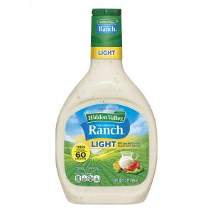 Hidden Valley Ranch Light Original Ranch Salad Dressing