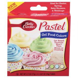 Betty Crocker Pastel Gel Food Colors