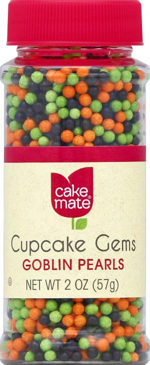 Cake Mate Goblin Mix Pearls Cupcake Gems